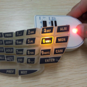 Customize Rubber Silicone Laser Cutter Keypad