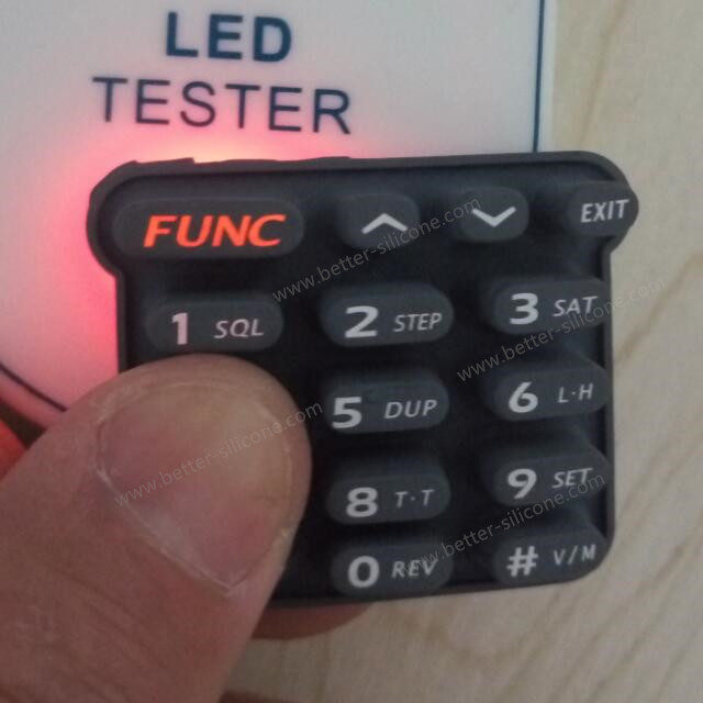 Rubber Backlight Keypad