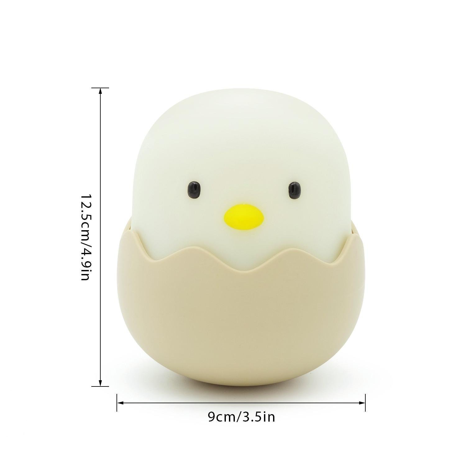 Silicon Egg-shell Night Light