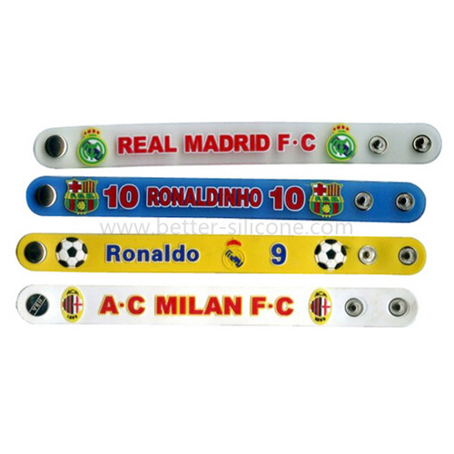 PVC Wristband with Snap