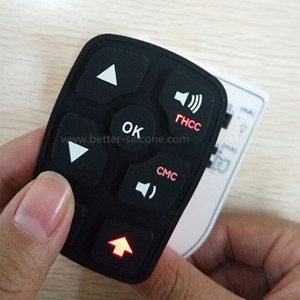 Designed Laser Etched Silicone Rubber Keypad with High Quality