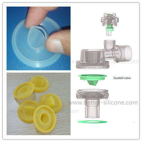 Silicone Non-Return Valve