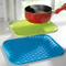 Ovenproof Kitchen Silicone Pot Mat