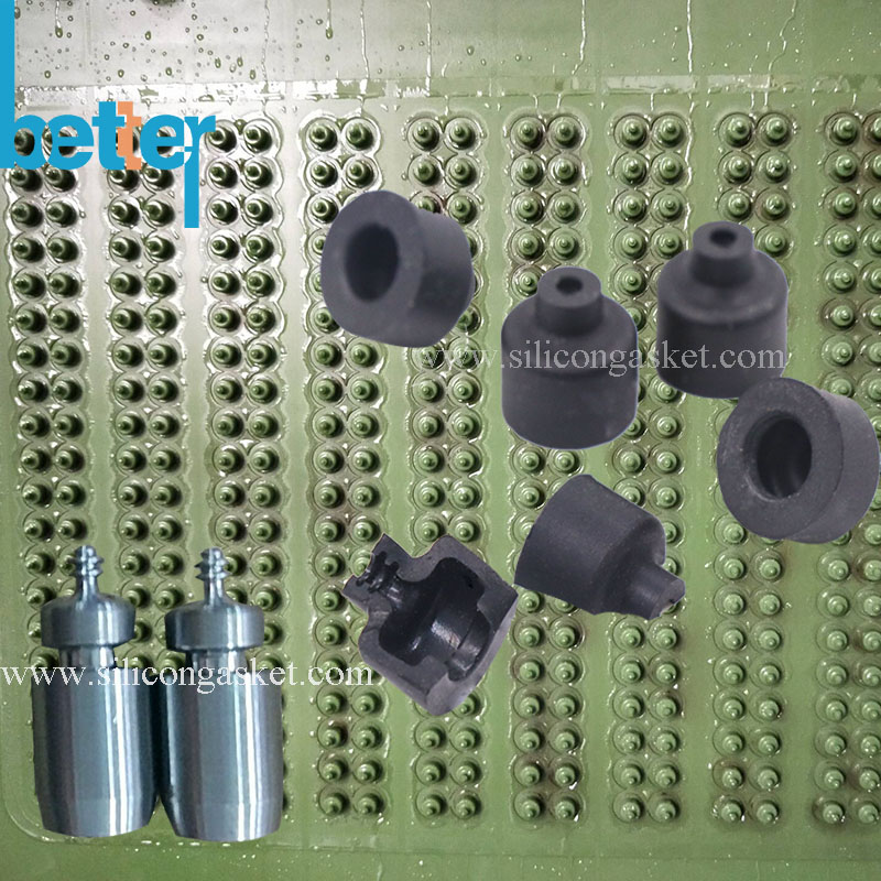 Silicone Compression Molding for Rubber Gasket