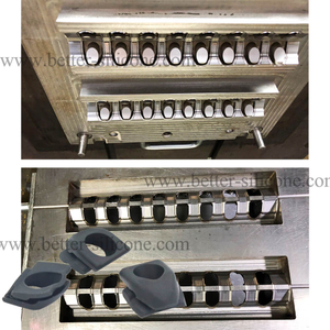 Silicone Rubber Compression Molding for Grommet