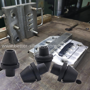 Rubber Grommet Compression Molding