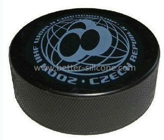 Elastomer Rubber Ice Puck