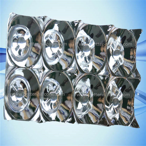 Coating Aluminum PC Led lighting cover