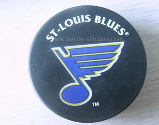 Silicon Rubber Hockey Puck