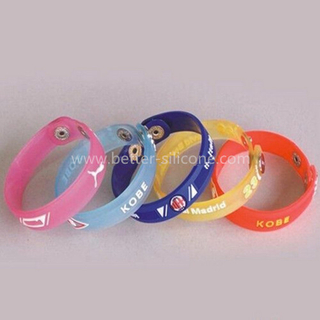 Custom Soft PVC Wrist Bands