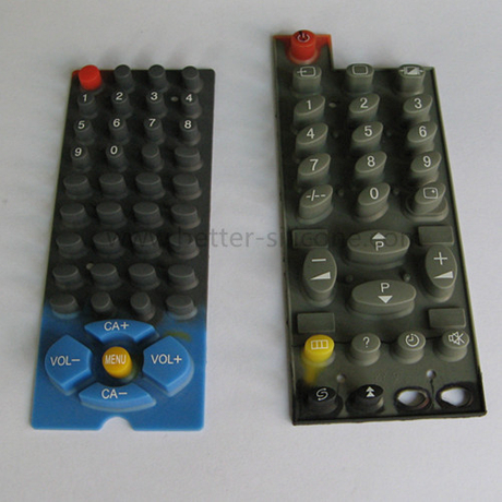 Silk screen Elastomeric Silicone Rubber Keypad