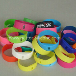 LSR Silicone Smart Watch Bracelet