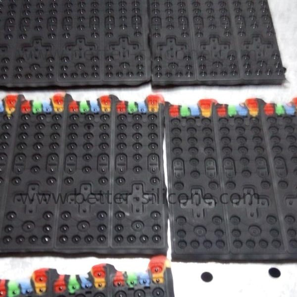 Elastomer Rubber Electrically Conduction Keypad
