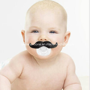 Mustache Silicone Baby Pacifier